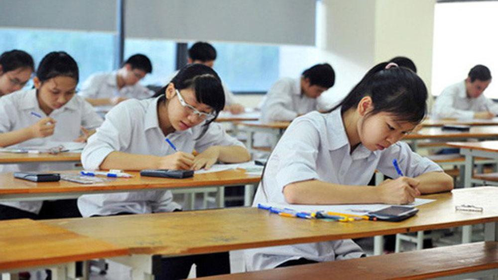 Hơn 19,6 nghìn học sinh Bắc Giang chuẩn bị bước vào ngày đầu tiên kỳ thi THPT quốc gia năm 2018