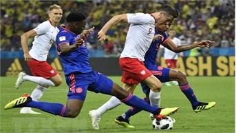 Colombia tiễn tuyển Ba Lan về nước với chiến thắng đậm