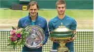 Djokovic thua nuối tiếc Cilic, Federer mất ngôi vương tại Halle