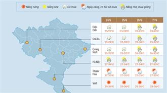 Thời tiết dịp thi THPT quốc gia năm 2018
