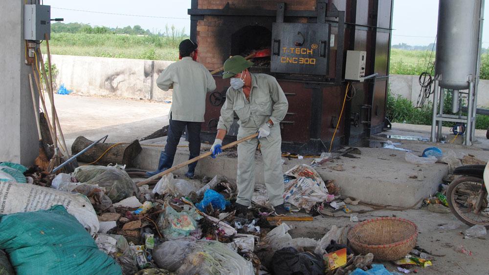 Loay hoay khai thác,  vận hành lò đốt rác