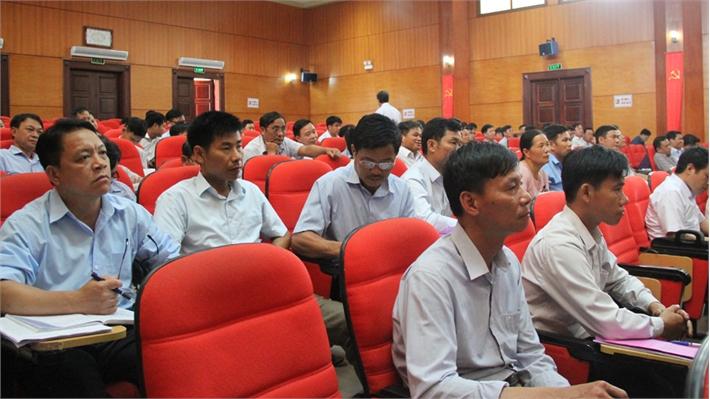 Huyện ủy Lục Ngạn xác định 7 nhóm giải pháp tập trung chỉ đạo, thực hiện đến năm 2020