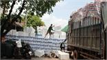 Giá đá cây, thùng xốp giảm mạnh; giá vải thiều tăng