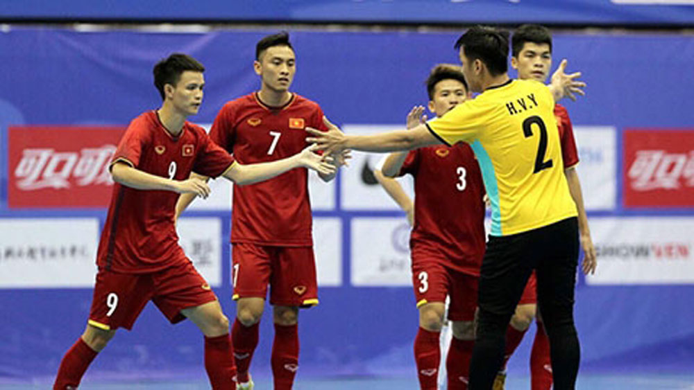 Vietnam, futsal team, runner-ups, China friendly tournament,  international friendly tournament, ball possession, top scorer