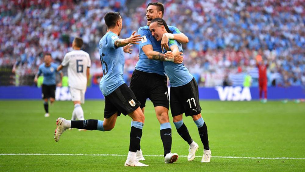 Video bàn thắng Uruguay 3-0 Nga