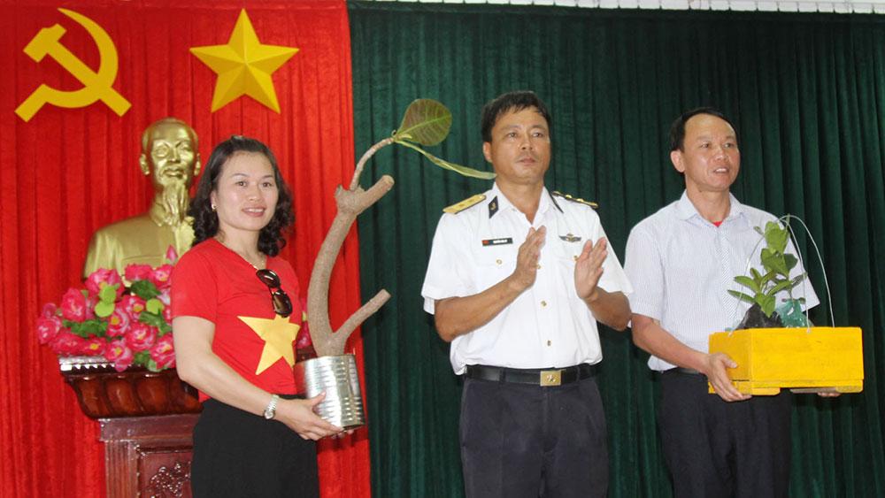 Trung tá Nguyễn Văn Ký, Chính trị viên, đảo Nam Yết, đồng đội, hậu phương