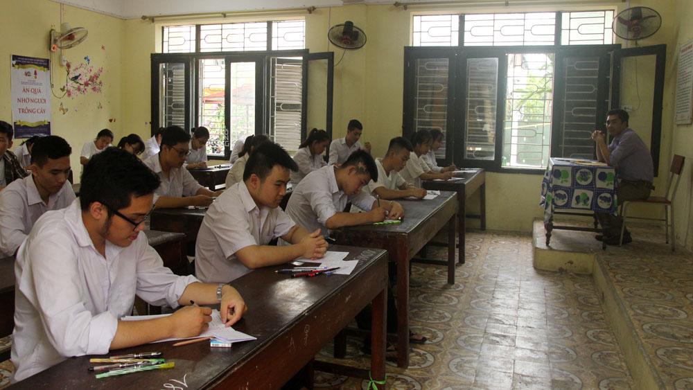 Thi THPT quốc gia, tốt nghiệp, thí sinh, Bắc Giang