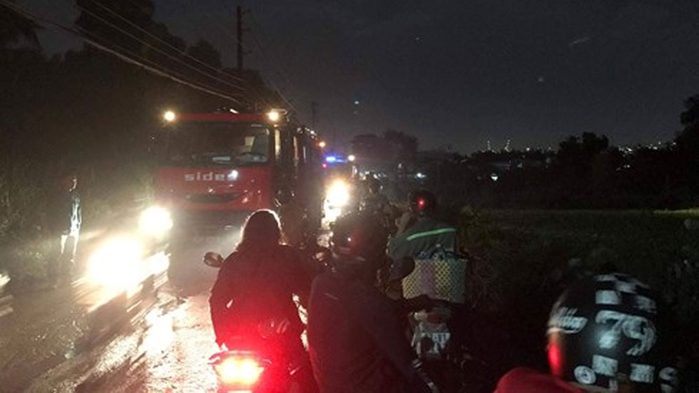 Nhà tình thương tại TP Hồ Chí Minh bị hỏa hoạn thiêu rụi