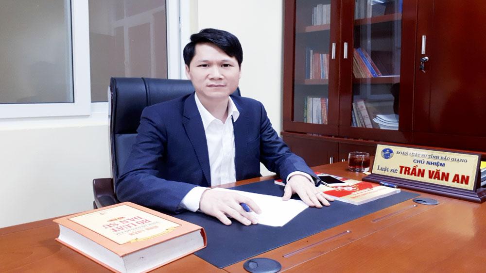 Luật An ninh mạng, Quốc hội, Báo Bắc Giang, Chủ nhiệm Đoàn Luật sư tỉnh Bắc Giang