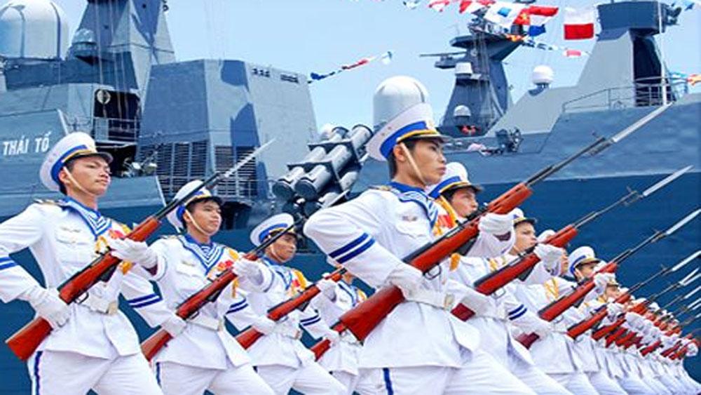 8 sĩ quan tham gia diễn tập hải quân lớn nhất thế giới RIMPAC