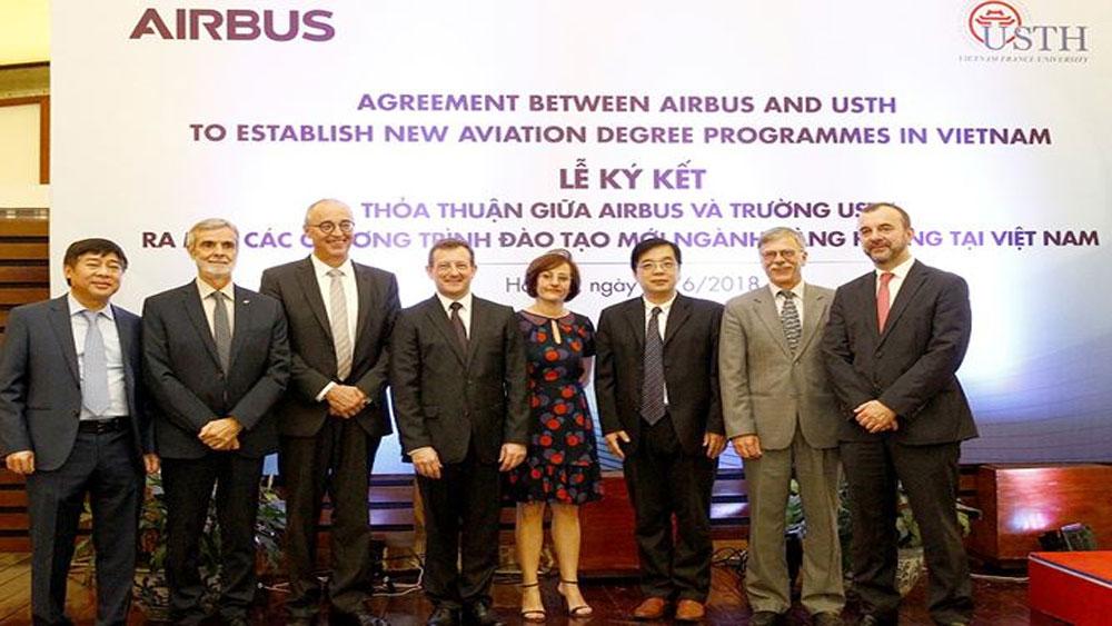 Việt Nam, đào tạo, cử nhân, thạc sĩ, quốc tế, hàng không