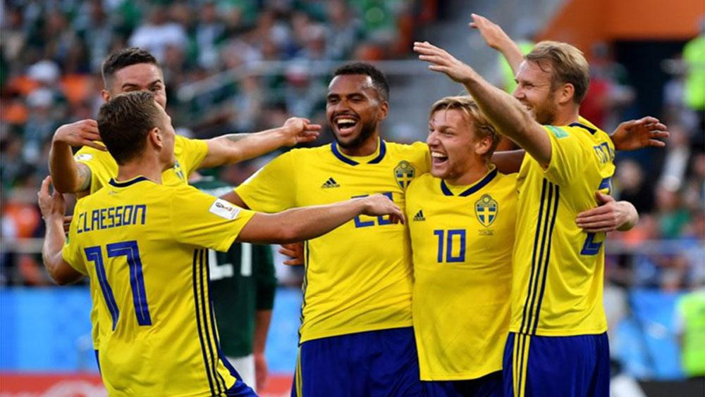 Mexico 0-3 Thụy Điển: Bất ngờ trước sức mạnh Bắc Âu
