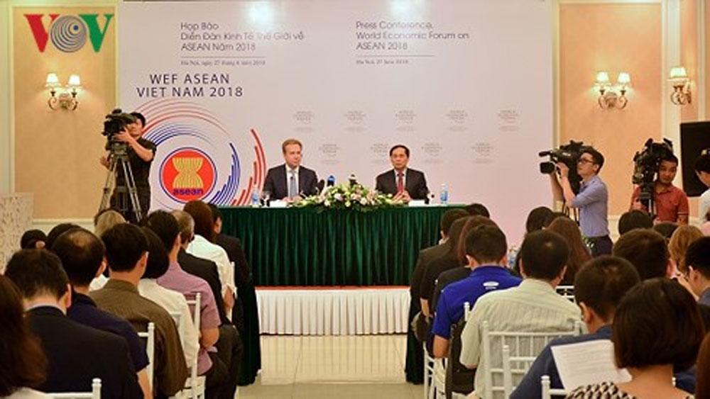 Diễn đàn, kinh tế, thế giới, ASEAN 2018, sắp diễn, Việt Nam
