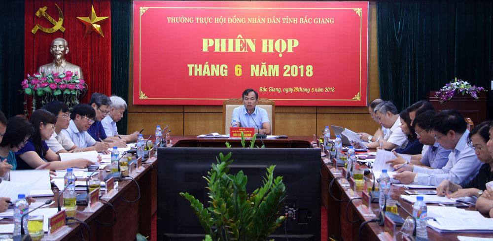 Bắc Giang, HĐND tỉnh, phiên thường kỳ, giải quyết kiến nghị, cử tri