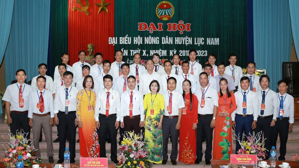 Đại hội đại biểu Hội nông dân huyện Lục Nam lần thứ X