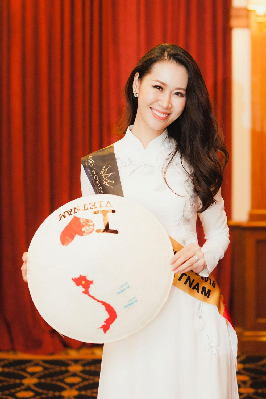 cuộc thi Mrs Worldwide 2018, Hoa hậu Phụ nữ Toàn thế giới 2018, Dương Thùy Linh, Hương Vỹ, Yên Thế, Bắc Giang