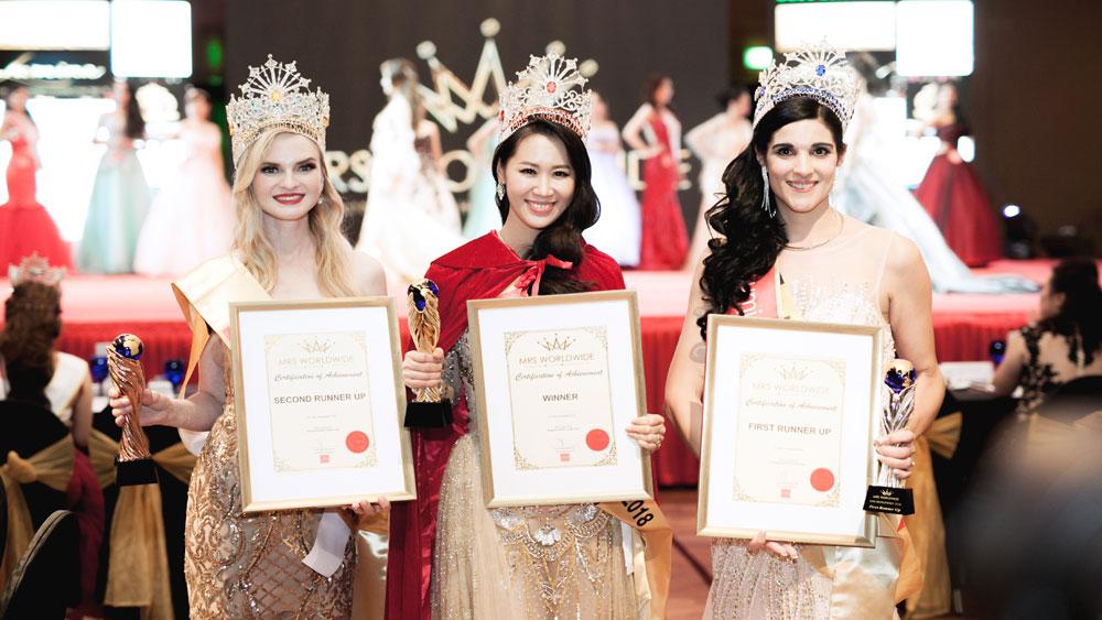 Dương Thùy Linh đăng quang Hoa hậu Phụ nữ Toàn thế giới 2018: Tự hào phụ nữ Việt Nam