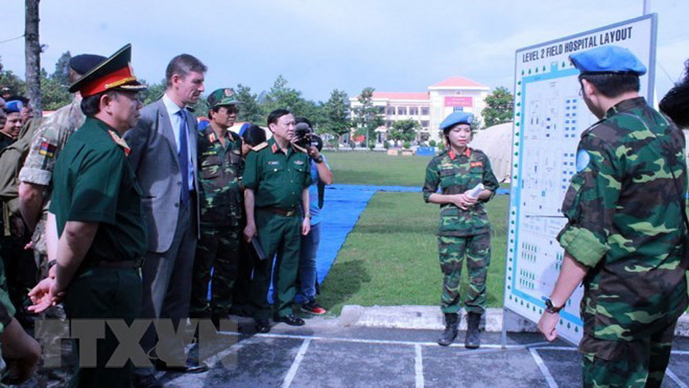 UN shows high evaluation for Vietnam's peacekeeping engagement
