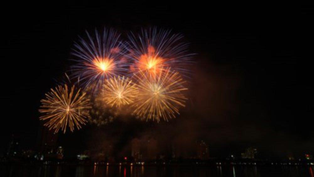 DIFF 2018, pháo hoa, đêm chung kết, Ý, sông Hàn, Đà Nẵng, Mỹ