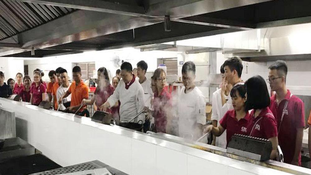 Trường Cao đẳng kỹ thuật công nghiệp (Bộ Công Thương), phường Trần Nguyên Hãn, TP Bắc Giang, Bắc Giang, chuyên ngành, nấu ăn, quản lý khách sạn - nhà hàng, thiết kết thời trang