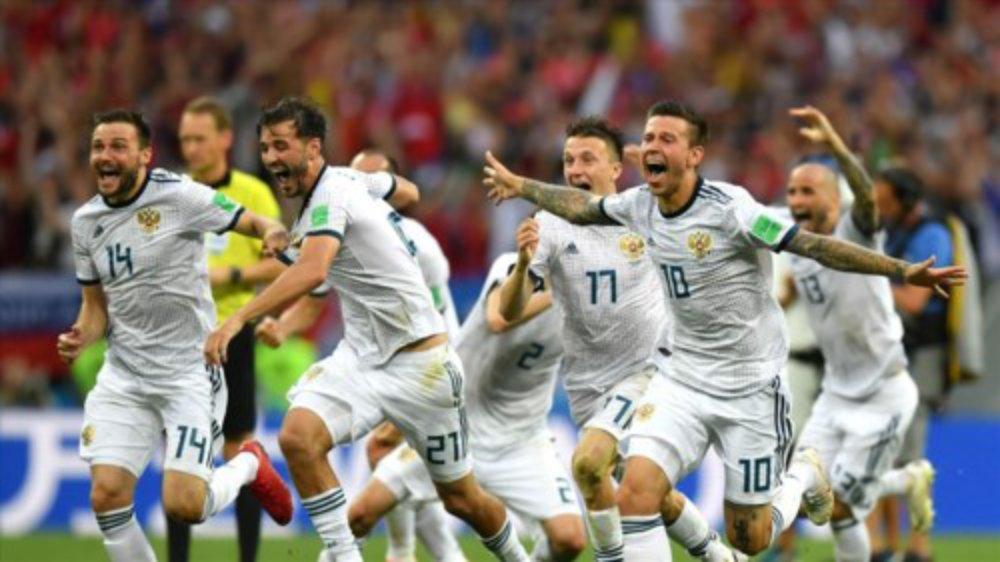 Thắng Tây Ban Nha sau loạt penalty, chủ nhà Nga vào tứ kết World Cup 2018