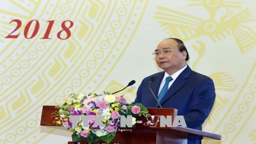 Thủ tướng: Tăng trưởng để giải quyết việc làm, tăng thu ngân sách, giảm nợ công