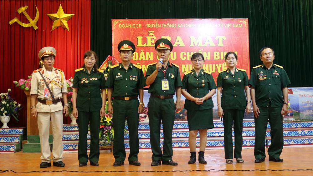 Lục Nam ra mắt Đoàn Cựu chiến binh truyền thống