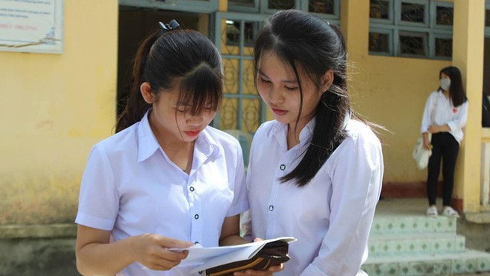 Xuất hiện, điểm 9, điểm liệt, chấm thi, môn Ngữ văn THPT quốc gia 2018