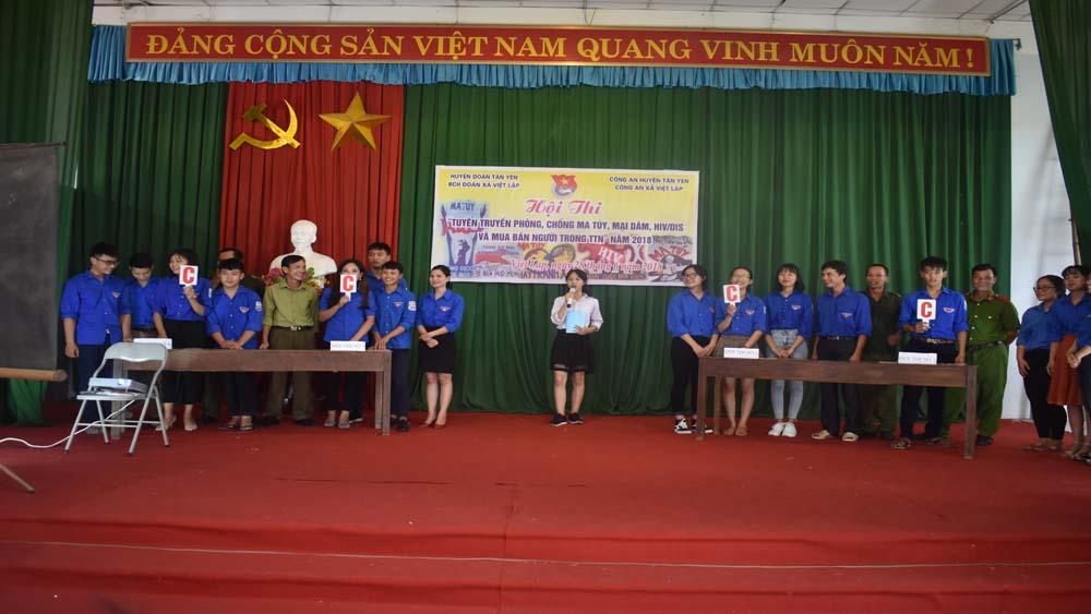 Hội thi tuyên truyền phòng, chống ma túy