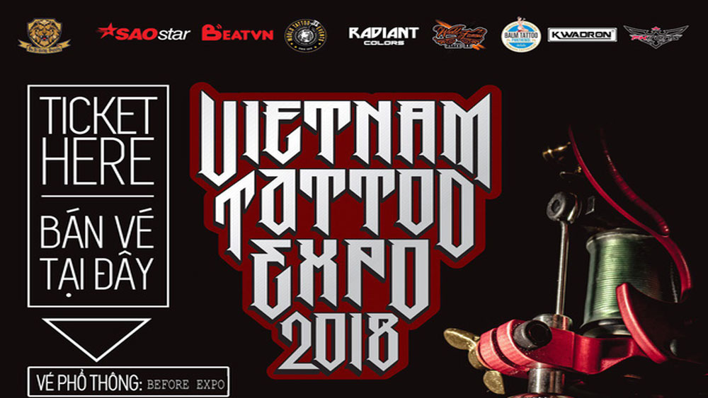 Vietnam's first ever tattoo expo to draw a crowd