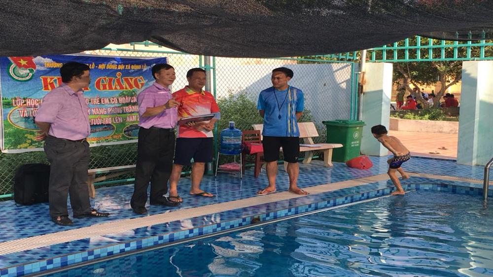 Hiệp Hòa tăng cường quản lý hoạt động bể bơi