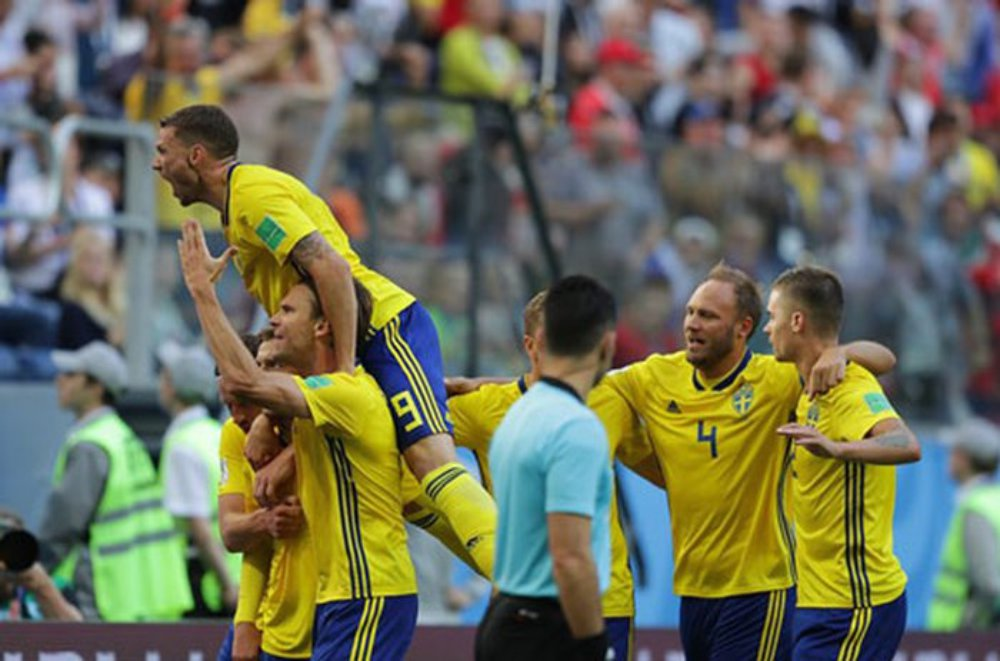 Thụy Sĩ, Thụy Điển, World Cup 2018