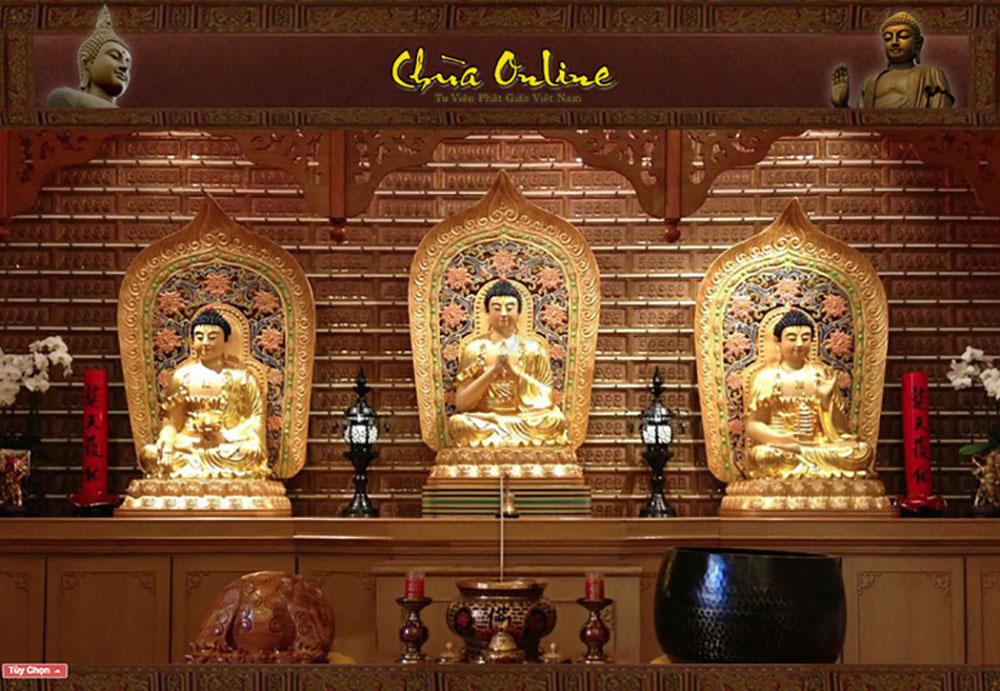 Đi chùa online, chùa online