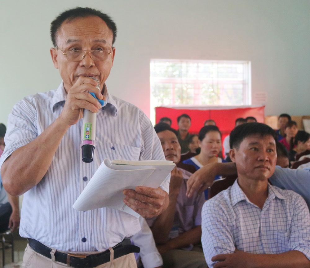 Đoàn Đại biểu Quốc hội, tiếp xúc cử tri, Bắc Giang, Yên Thế