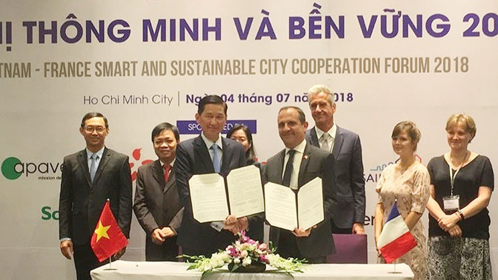 Vietnam, France cooperate in building smart and sustainable cities