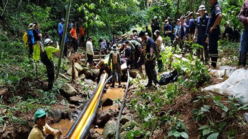 Thái Lan chốt phương án giải cứu đội bóng bị mắc kẹt