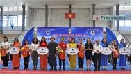 Gần 200 vận động viên tham gia Giải vô địch trẻ quốc gia thể dục Aerobic
