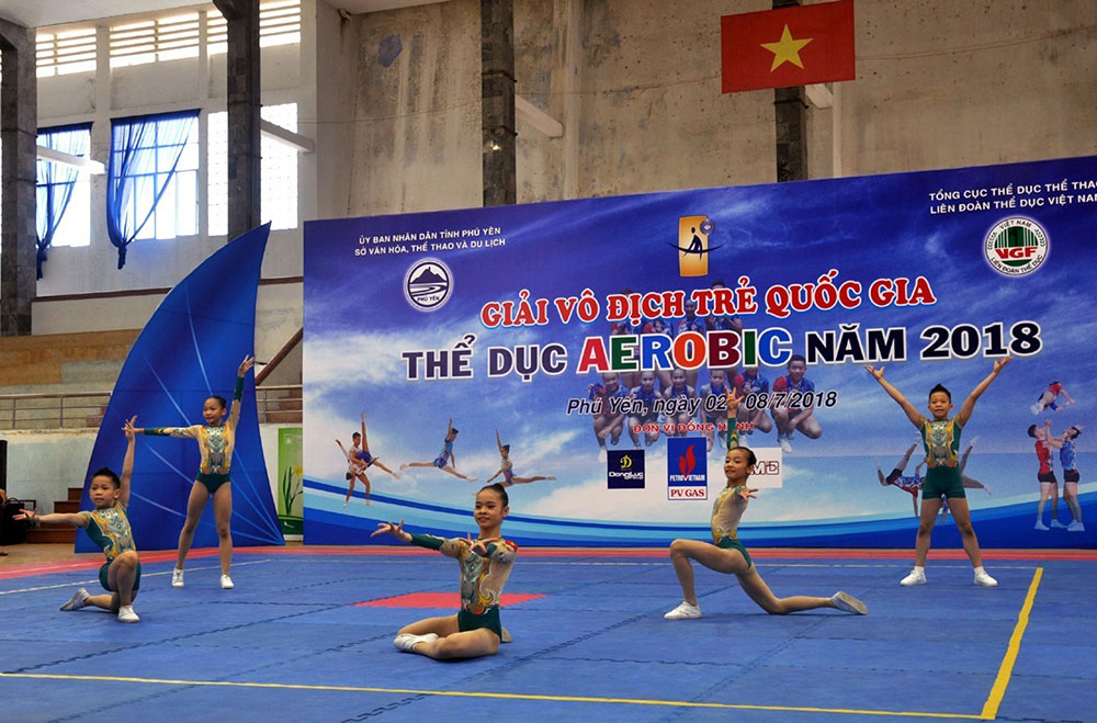 Gần 200 vận động viên, Giải vô địch trẻ quốc gia thể dục Aerobic
