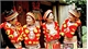 The art of the Red Dao people's costume decoration
