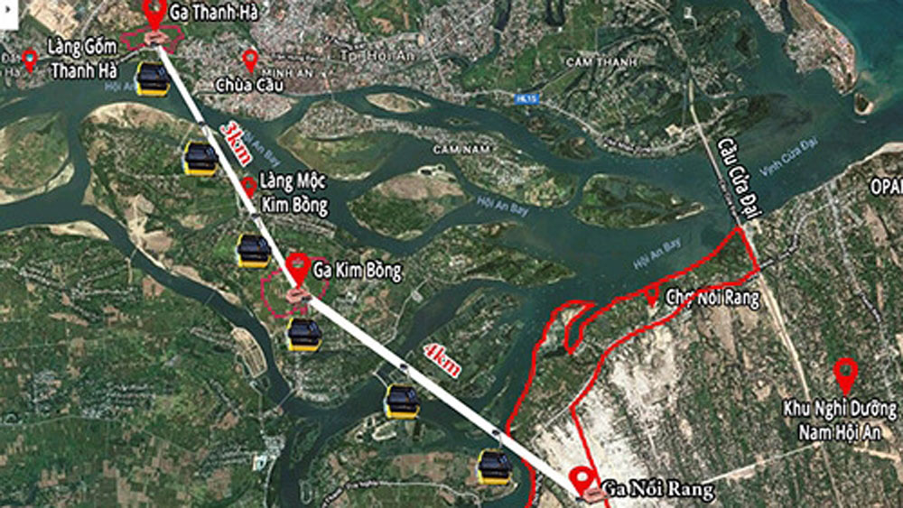 Hoi An authorities reject cable project over Thu Bon River