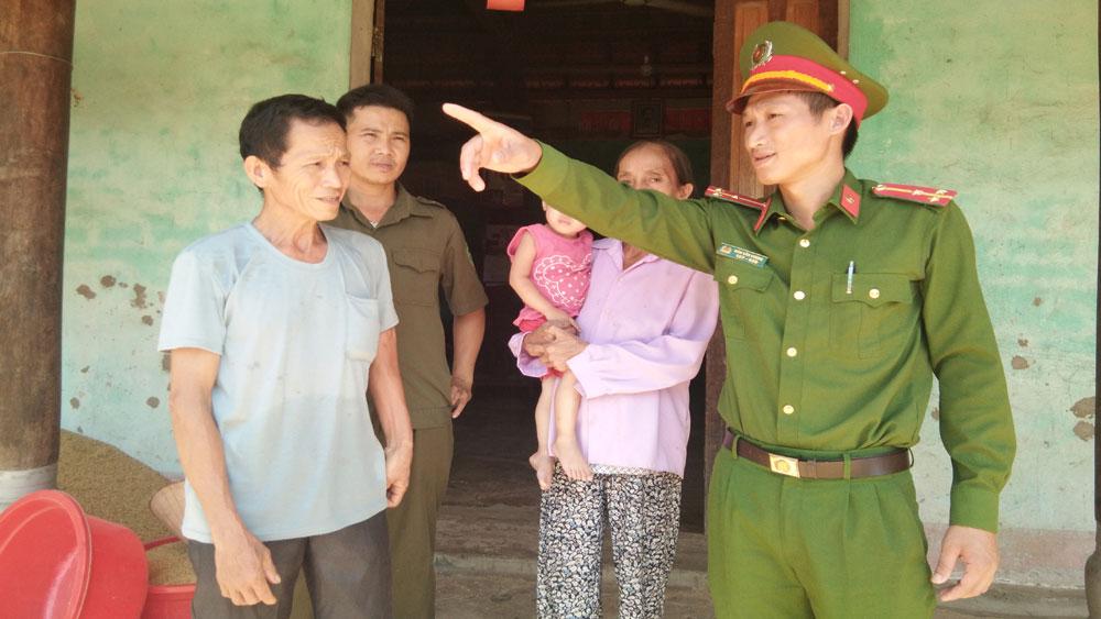 Sơn Động, Bắc Giang, an ninh trật tự, bám sát địa bàn