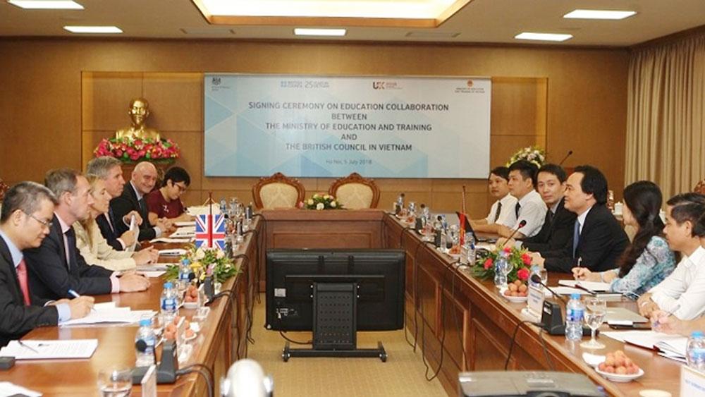 Việt Nam - Vương quốc Anh đẩy mạnh hợp tác về giáo dục