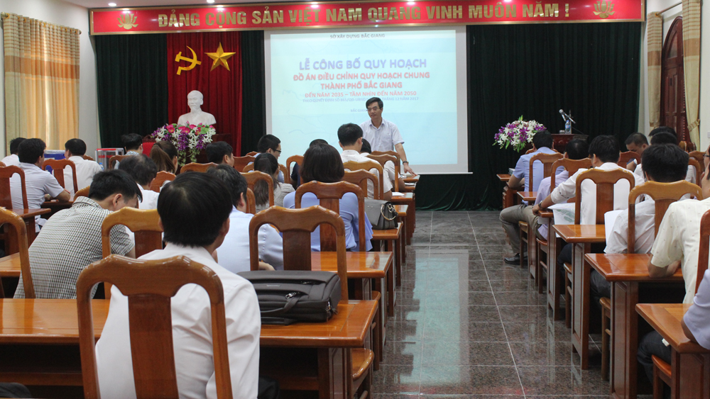 Adjustment of Bac Giang city master plan announced