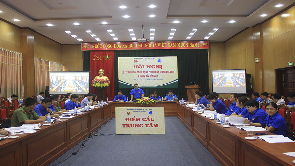 thanh niên, đoàn viên, Bắc Giang