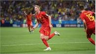 Đội tuyển Bỉ vào bán kết sau 32 năm chờ đợi