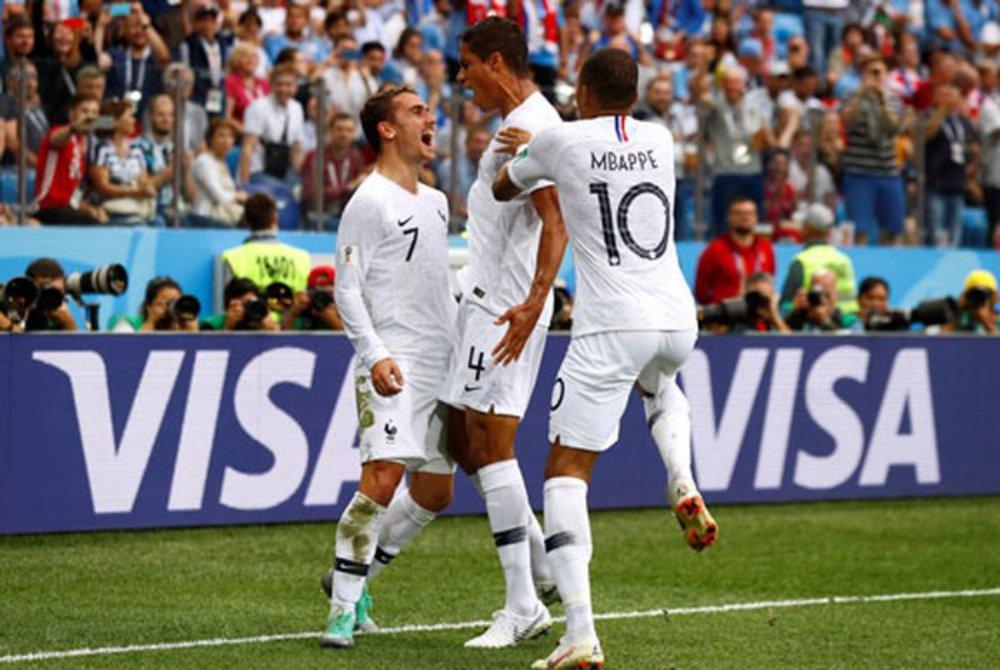 Uruguay, Pháp, World Cup 2018