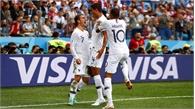 Uruguay gục ngã trước Pháp