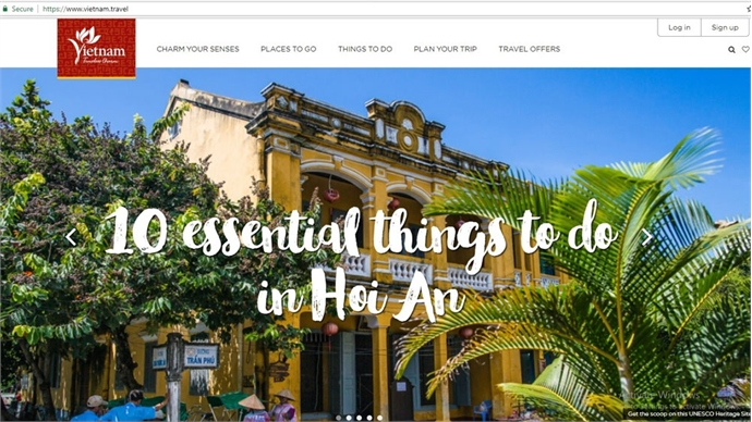 Administration launches new website to promote Vietnamese tourism