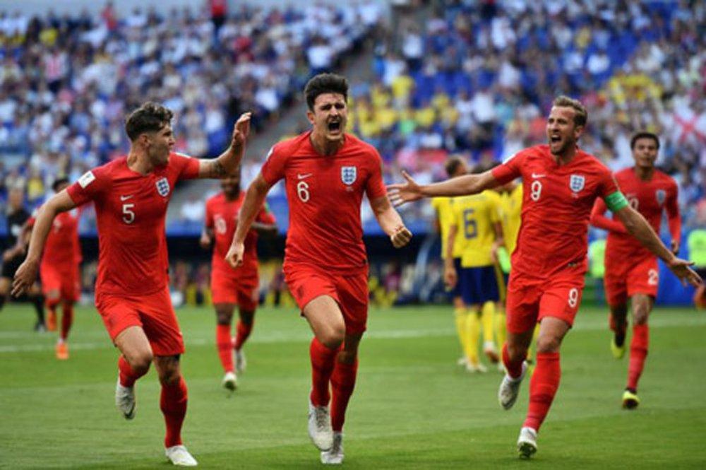 Anh, Thụy Điển, World Cup 2018