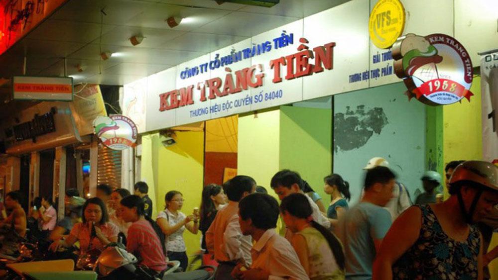 Trang Tien ice cream, a Hanoian specialty